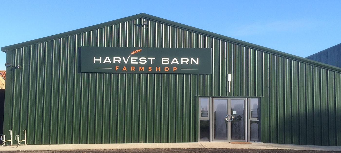 Harvestbarn Farm Shop Front