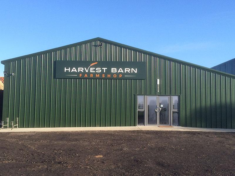 Harvestbarn farm shop